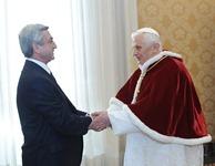 Նախագահ Սերժ Սարգսյանի աշխատանքային այցը Իտալիայի Հանրապետություն և Վատիկան