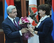 Serzh Sargsyan held a meeting with a group of new members of the Republican Party of Armenia