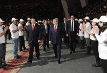 President Serzh Sargsyan participated at the event dedicated to the 15th anniversary of the Orinats Erkir Party