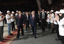 Президент Серж Саргсян присутствовал на мероприятии, посвященном 15-летию партии «Оринац еркир»