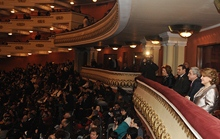President Serzh Sargsyan attended the concert of the RA Honored Artist Shusan Petrossian