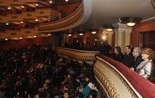 Серж Саргсян присутствовал на сольном концерте заслуженной артистки РА Шушан Петросян