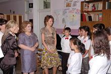 """Առաջին տիկին Ռիտա Սարգսյանը Սիրիայի առաջին տիկին Ասմա ալ-Ասադն այցելել են """"Զատիկ"""" մանկատուն"""