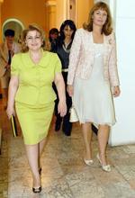 Առաջին տիկին Ռիտա Սարգսյանը հանդիպել է Վրաստանի առաջին տիկին Սանդրա Ռուլովսի հետ