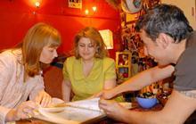 Առաջին տիկին Ռիտա Սարգսյանը և Վրաստանի առաջին տիկին Սանդրա Ռուլովսն այցելել են Նուռի արվեստանոց