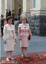 First Lady Rita Sargsyan met with the First Lady of the Republic of Cyprus Elsi Christofias