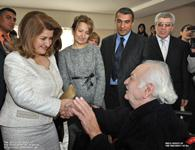 First Lady Rita Sargsyan visited the retirement home in Gyumri