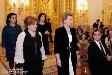 """Առաջին տիկին Ռիտա Սարգսյանը Մոսկվայում ներկա է գտնվել """"Ծագող աստղերը Կրեմլում"""" միջազգային փառատոնին"""