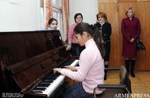 First Lady Rita Sargsyan and First Lady of Latvia, Lilita Zatlers visited Zatik orphanage