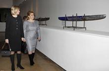 First Lady Rita Sargsyan and First Lady of Latvia, Lilita Zatlers visited Cafesjian Art Center