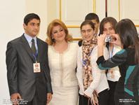 По инициативе Первой леди Риты Саргсян в Резиденцию Президента РА были приглашены лучшие ученики выпускных классов Республики