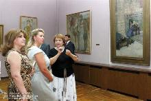 The First Lady of RA and the spouse of the President of RF visited the National Gallery of Armenia and the Museum of History