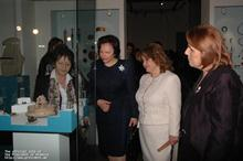 First Lady of Armenia Rita Sargsyan and First Lady of Slovenia visited the Museum of History of Armenia