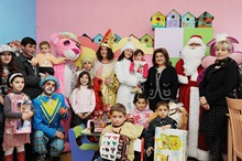 First Lady Rita Sargsyan visited National Center for Oncology Treatment, Center of Hematology and the Chemotherapy Clinic