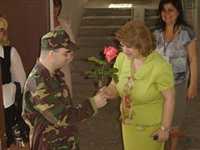 Rita Sargsyan visited the Center for Recovery of handicapped children and adolescents