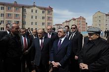 Президент Серж Саргсян с рабочим визитом отправился в Ширакскую область