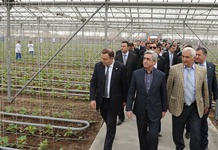 President Serzh Sargsyan conducted a working visit to Armavir marz