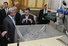 President Serzh Sargsyan conducted a working visit to Ararat marz