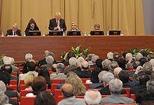 Серж Саргсян принял участие в общем годичном собрании Национальной академии наук РА