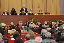 Serzh Sargsyan participated at the general conference of the RA National Academy of Sciences