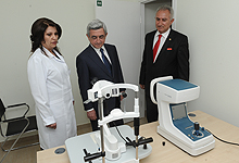 Serzh Sargsyan conducted a working visit to Aragatsotn marz