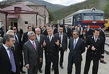 Серж Саргсян с рабочим визитом отправился в Лорийскую и Тавушскую области
