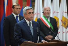Речь Президента РА Сержа Саргсяна на церемонии открытия программы «Ереван - Всемирная столица книги 2012г.»