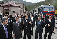 President Serzh Sargsyan conducted a working visit to Lori and Tavush marzes