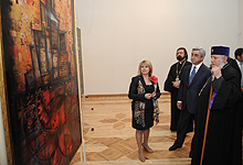 President Serzh Sargsyan participated at the events dedicated to the 500th anniversary of the Armenian printing