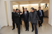 President Serzh Sargsyan conducted a working visit to Gegharkunik marz