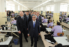 President Serzh Sargsyan conducted a working visit to Tavush and Lori marzes