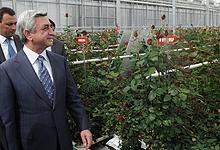 Президент Серж Саргсян с рабочим визитом отправился в Котайкскую область
