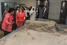 The First Lady of Armenia and Sheikha of Kuwait visited the Museum of History of Armenia