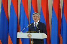 Послание Президента Сержа Саргсяна по случаю праздника Республики