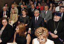 Սերժ Սարգսյանը ներկա է գտնվել «Հայաստան» համահայկական հիմնադրամի 20-ամյակի առթիվ կազմակերպված համերգին