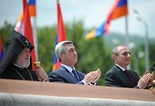 Серж Саргсян в Карабахе принял участие в праздничных мероприятиях