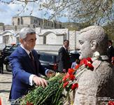 President Serzh Sargsyan's visit to the Nagorno Karabakh Republic