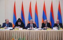 There took place a session of the Board of Trustees of the All-Armenian Hayastan Fund