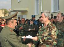 Президент Серж Саргсян отправился с рабочим визитом в Нагорно-Карабахскую Республику