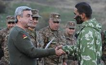 President Serzh Sargsyan makes a working visit to the Nagorno Karabakh Republic