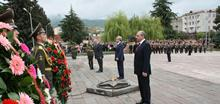 President Serzh Sargsyan participated at the celebrations dedicated to the Victory Day and Liberation of Sushi