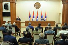Serzh Sargsyan in Stepanakert participated at the festive events dedicated to the 20th anniversary of the establishment of the Republic of Nagorno Karabakh