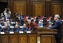 Речь Президента Сержа Саргсяна в связи с началом работы Национального Собрания РА 5-го созыва