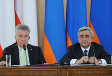 Statement by President Serzh Sargsyan at the joint press conference with the President of the Republic of Austria Heinz Fischer