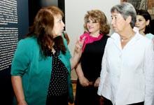 Рита Саргсян и супруга Президента Австрии посетили Музей истории Армении