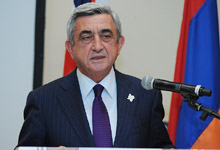 Address by President Serzh Sargsyan at the reception organized by the Armenian community and church council of Britain