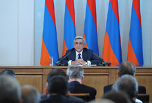 Remarks by the President of the Republic of Armenia Serzh Sargsyan at the Meeting with the Heads of Diplomatic Missions Accredited in the Republic of Armenia