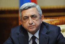 Opening remarks by the President of Armenia Serzh Sargsyan at the meeting of the RA National Security Council