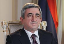 Поздравительное обращение Президента РА Сержа Саргсяна по случаю Дня знаний