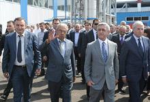 Working visit of President Serzh Sargsyan to Armavir marz